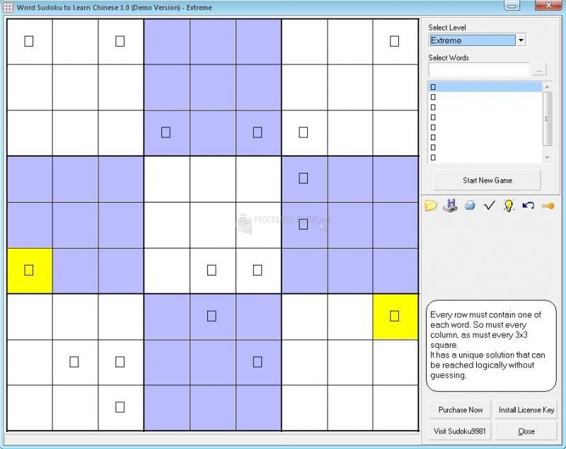 Foto Word Sudoku To Learn Chinese