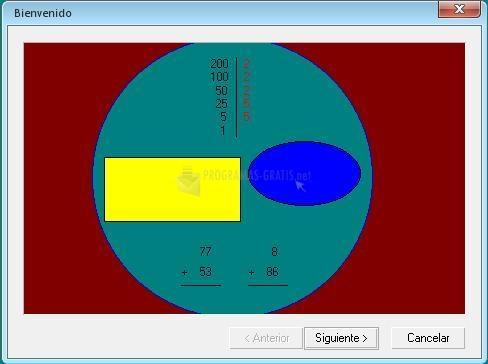 Pantallazo Ejercicios de Matemáticas