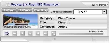 Pantallazo A4Desk Flash Music Player