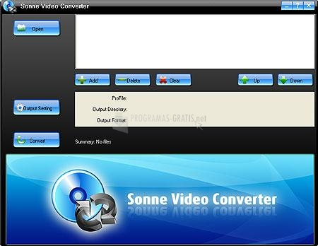 Pantallazo Sonne Video Converter