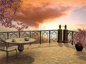 Pantallazo Seaside Café Screensaver