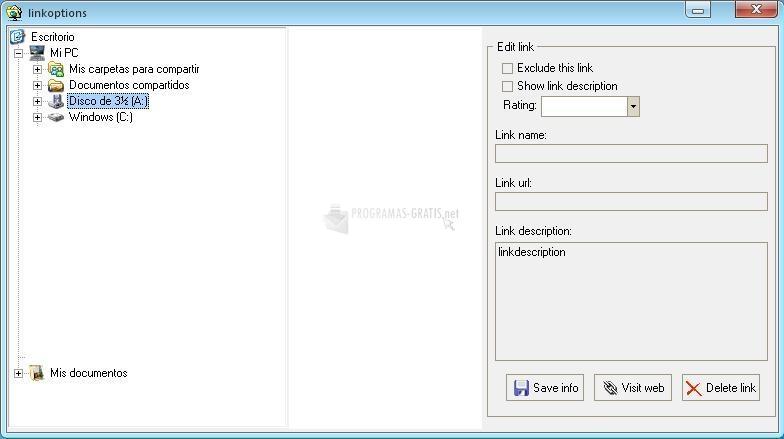 Captura Bookmarks WebMaker