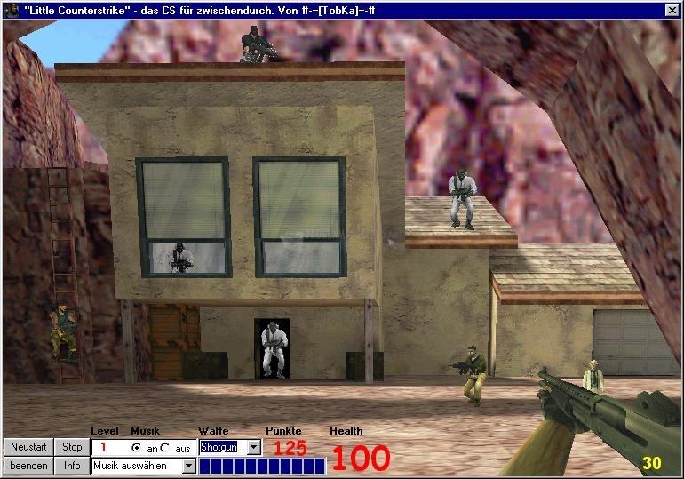 Pantallazo Little Counter Strike