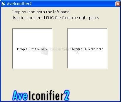 Pantallazo Ave Iconifier 2