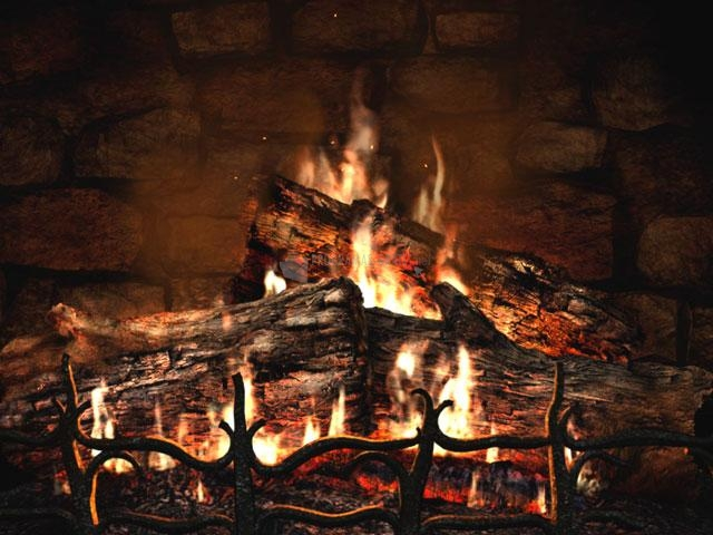 Pantallazo Fireplace 3D Screensaver