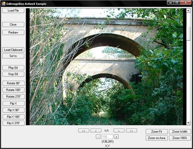 Pantallazo GDImageBox Pro ActiveX
