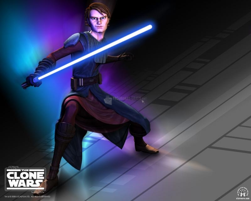 Pantallazo The Clone Wars: Anakin Wallpaper