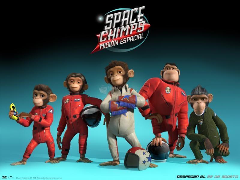 Pantallazo Space Chimps Wallpaper1