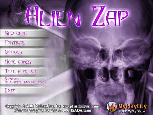 Pantallazo Alien Zap