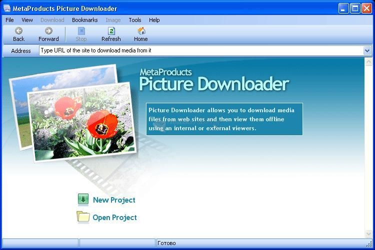 Pantallazo MetaProduct Picture Downloader