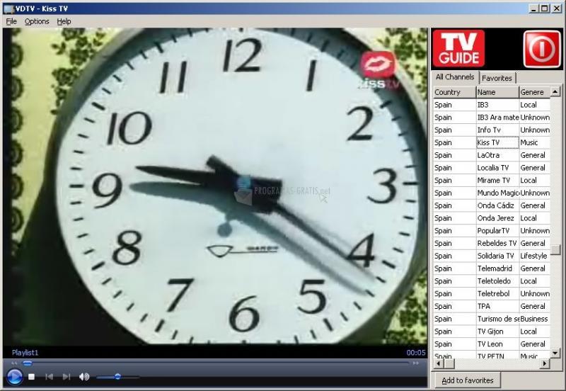 Pantallazo VDTV