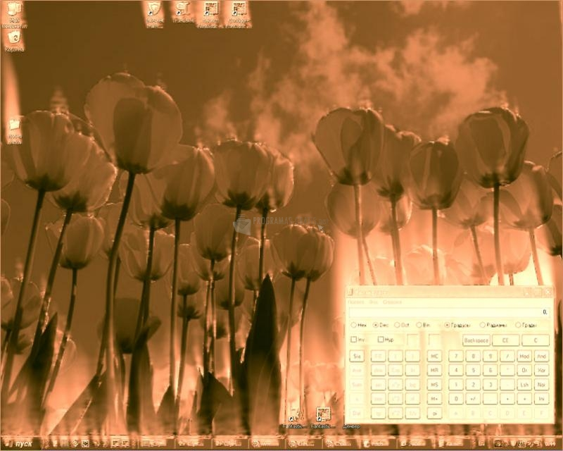 Pantallazo Fantastic Flame Screensaver
