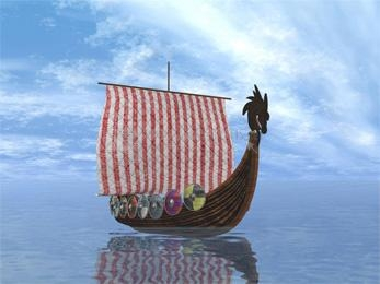 Pantallazo Viking Boat Screensaver