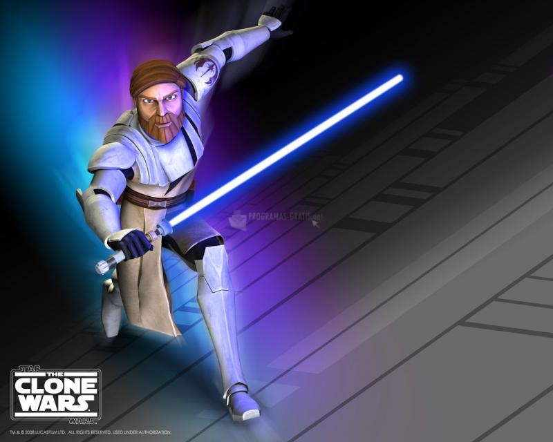 Pantallazo The Clone Wars: Obi Wallpaper