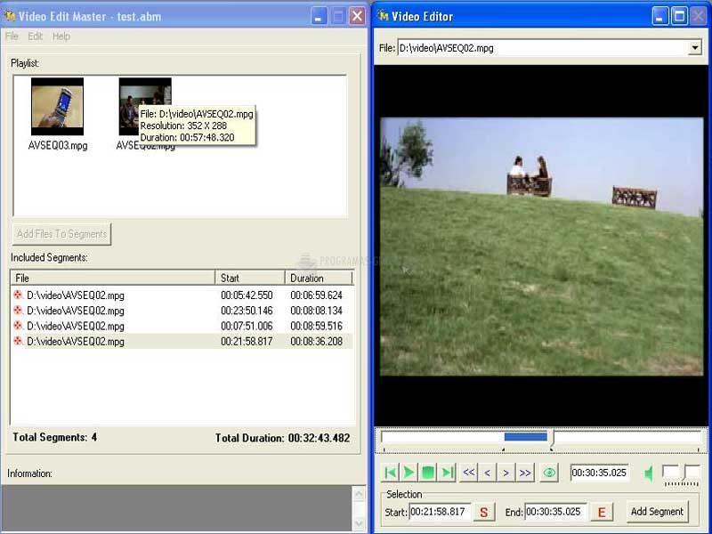 Pantallazo Video Edit Master