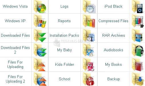 Pantallazo Everyday Vista Folder Icons