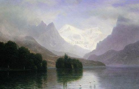 Pantallazo Albert Bierstadt Screensaver
