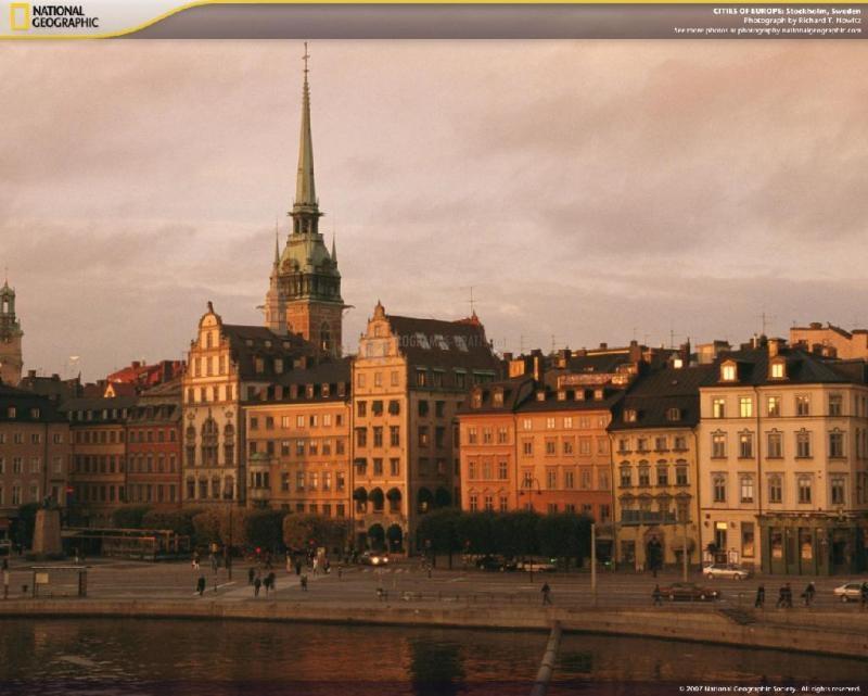 Pantallazo Cities of Europe Screensaver