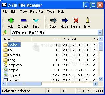Pantallazo 7-Zip