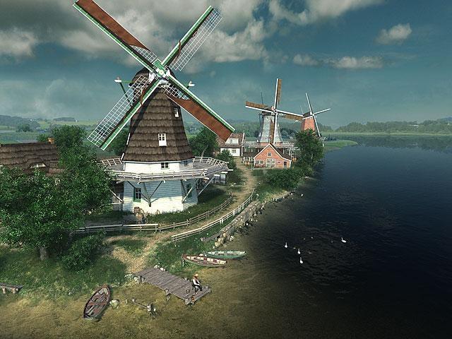Pantallazo Dutch Windmills