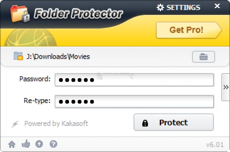 Pantallazo KaKa Folder Protector