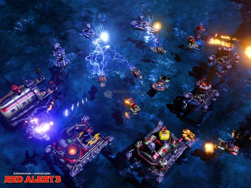 Pantallazo Command and Conquer Red Alert 3: Allied