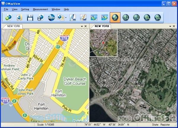 Pantallazo Map View
