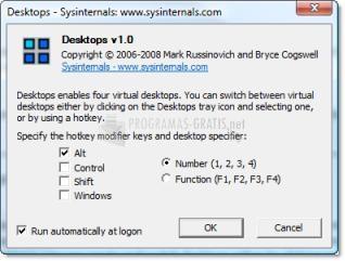 Pantallazo Desktops