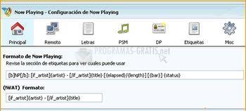 Pantallazo Script MSN Music Now Playing
