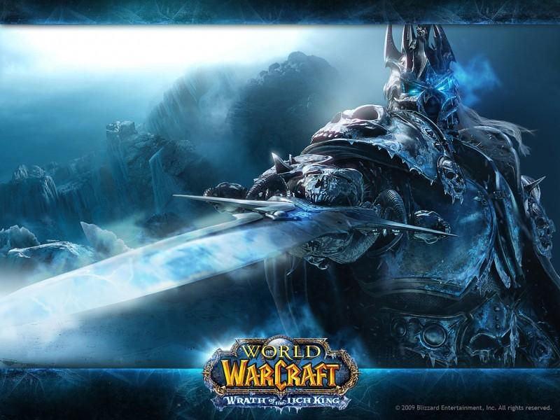 Pantallazo World of Warcraft Death Knight Wallpaper
