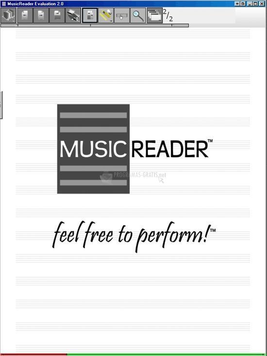 Pantallazo MusicReader Solo Pro