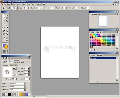 Pantallazo Portable Artweaver