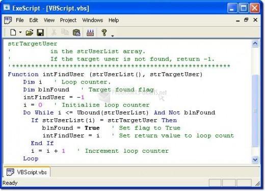 Pantallazo HF ExeScript