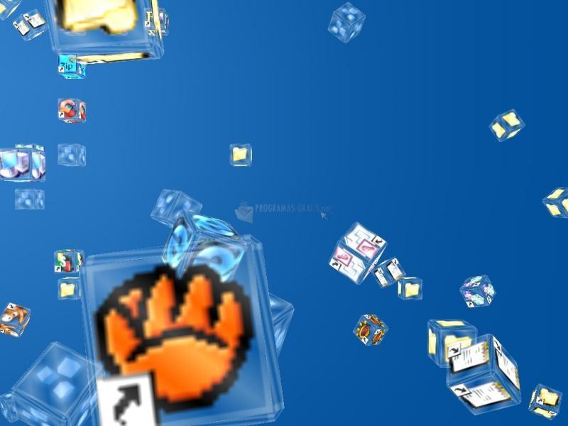 Pantallazo Crash Icons 3D Screensaver