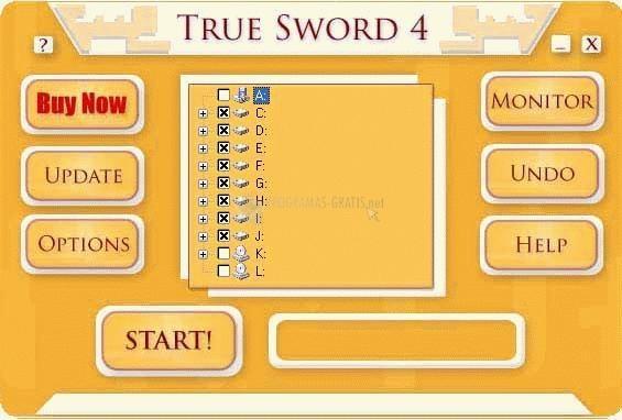 Pantallazo True Sword