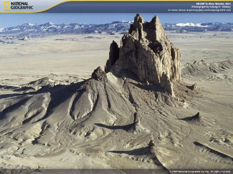 Pantallazo Deserts Screensaver