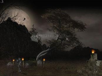Pantallazo Halloween Tree Screensaver