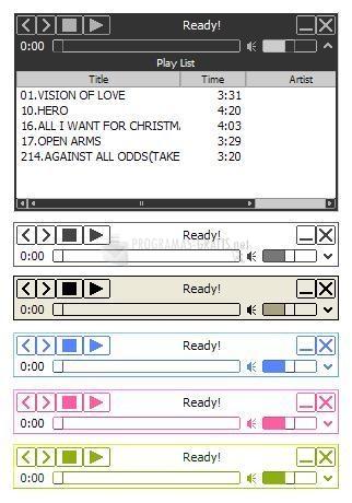 Pantallazo Moo0 AudioPlayer