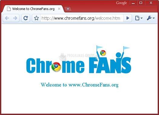 Pantallazo Firebrick Google Chrome Theme