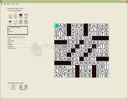 Pantallazo Crossword Writer