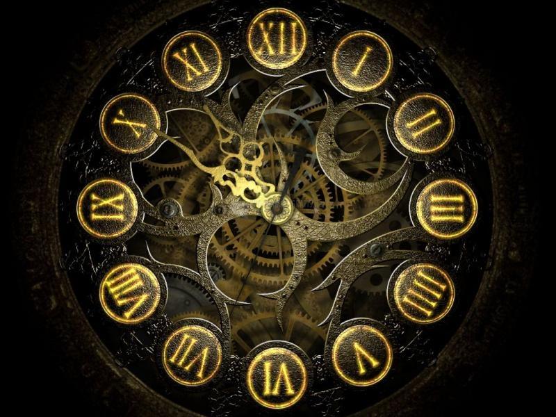 Pantallazo Mechanical Clock 3D