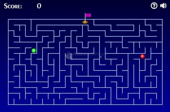 Pantallazo A Maze Race