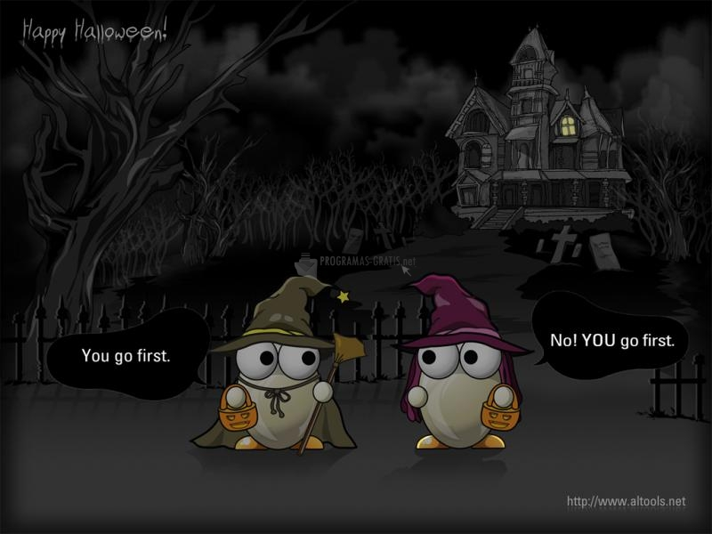 Pantallazo Halloween Spooky Haunted House Desktop