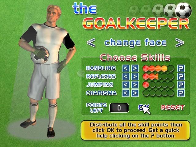 Pantallazo The Goalkeeper