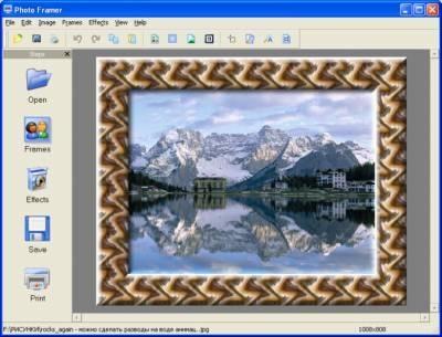 Pantallazo Photo Framer