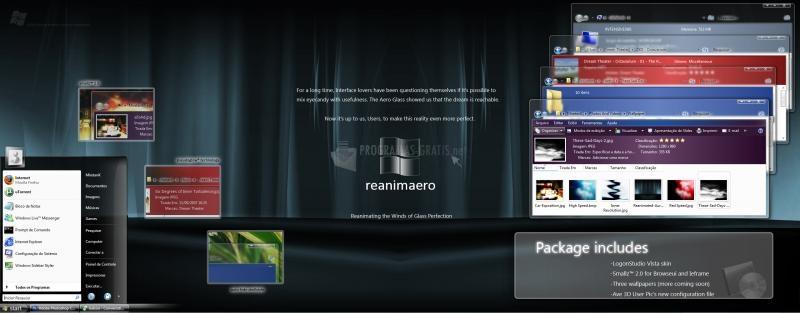 Pantallazo Reanimaero VS for Vista