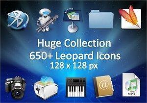 Pantallazo Leopard Huge Icon Pack