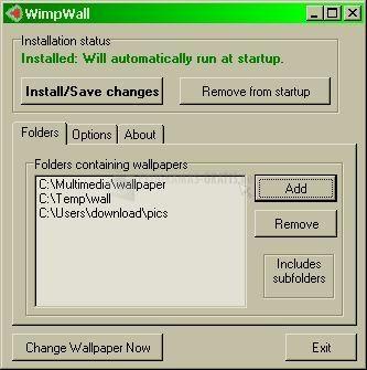 Pantallazo WimpWall