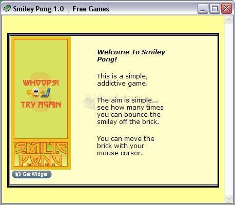 Pantallazo Smiley Pong