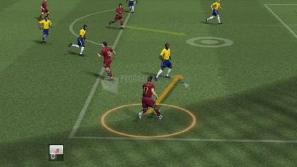 Pantallazo Pro Evolution Soccer 2009